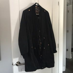Steve Madden lined quilted jacket